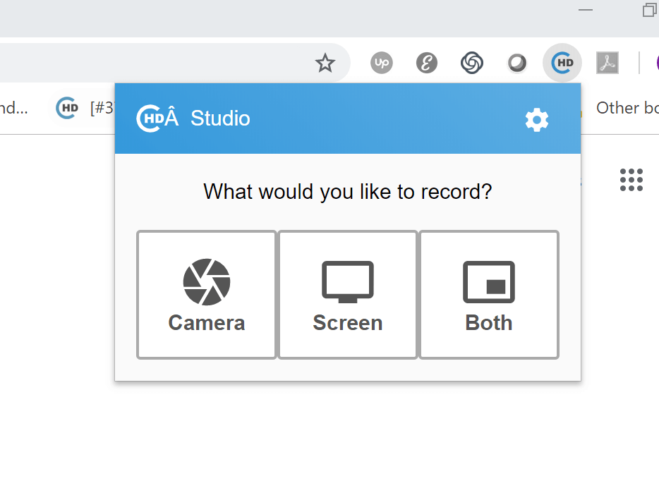 CircleHD for sales enablement in Chrome Browser Recording Plugin