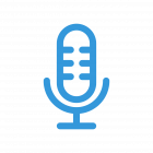 native recording for enterprise podcasting